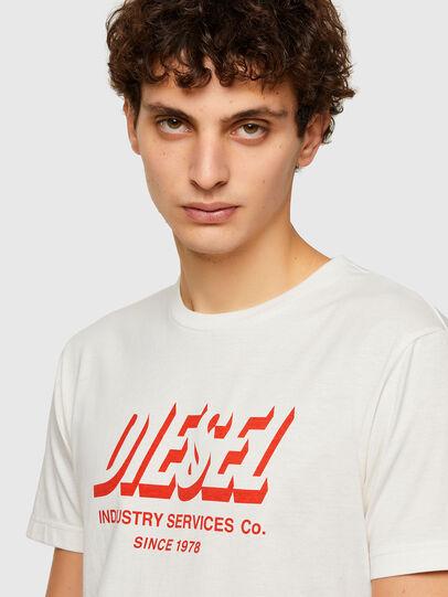 Diesel - T-DIEGOS-A5, Bianco - T-Shirts - Image 3