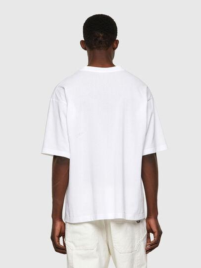 Diesel - T-BALM-B1, Blanc - T-Shirts - Image 2