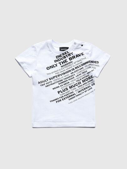 Diesel - TDIEGOS3B, Blanc - T-shirts et Hauts - Image 1