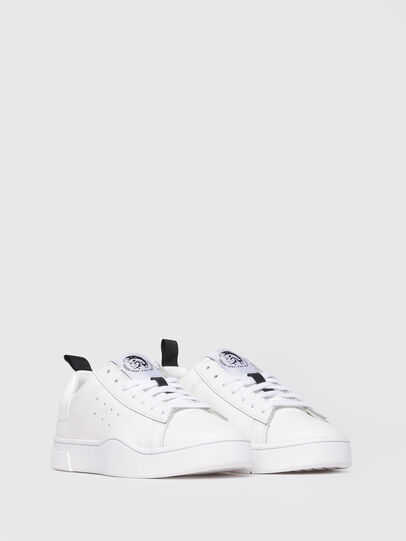 Diesel - S-CLEVER LOW W, Blanc Lumineux - Baskets - Image 2