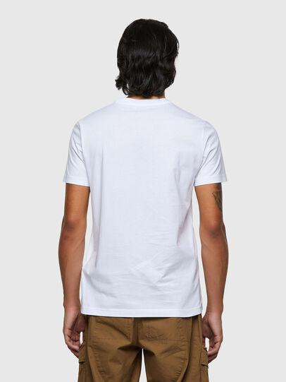 Diesel - T-DIEGOS-ECOSMALLOGO, Bianco - T-Shirts - Image 2