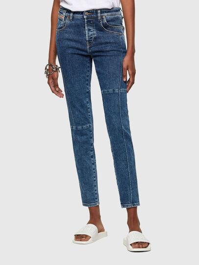 Diesel - Babhila 009VC, Blu medio - Jeans - Image 1