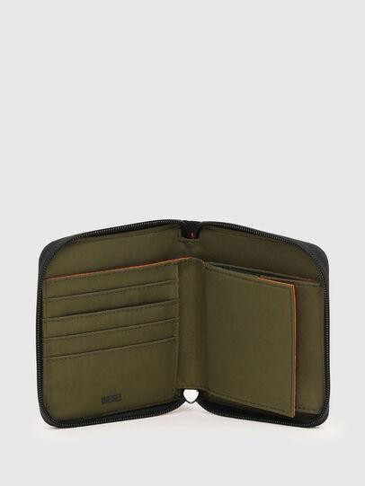 Diesel - PI-ZIP, Vert Camouflage - Portefeuilles Zippés - Image 3