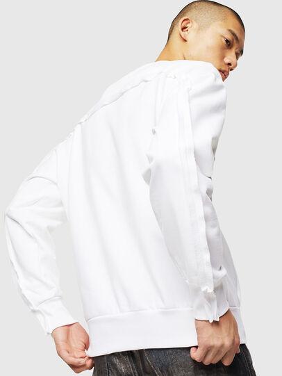 Diesel - S-BAY-RAW, Weiß - Sweatshirts - Image 2