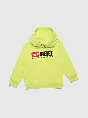 SDIVISION OVER, Neongelb - Sweatshirts