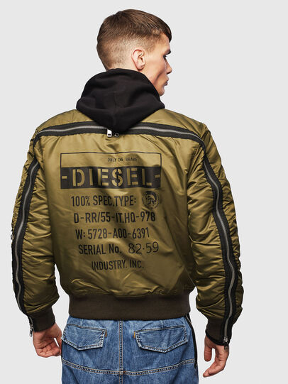 Diesel - J-MARTEN, Armeegrün - Jacken - Image 2