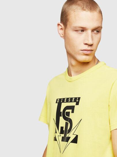 Diesel - T-DIEGO-B14, Gelb - T-Shirts - Image 3