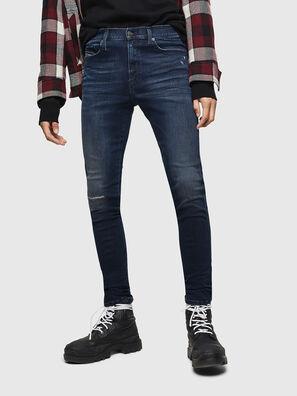 D-Istort 0870C, Dunkelblau - Jeans