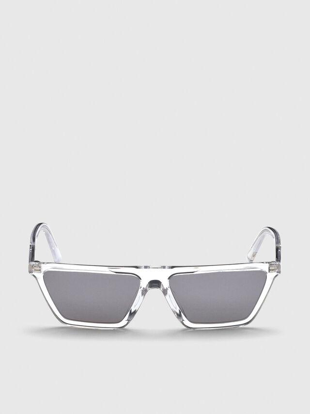 Diesel - DL0304, Weiß - Sonnenbrille - Image 1