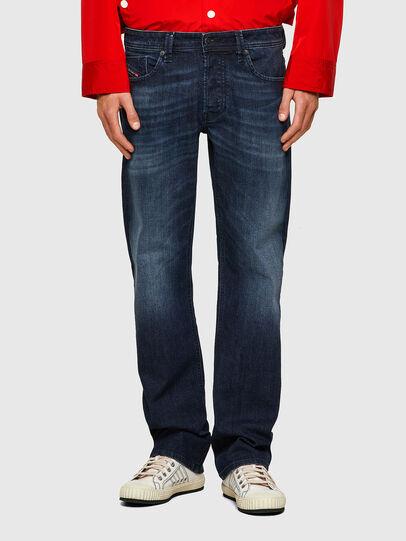 Diesel - Larkee 0095W, Bleu Foncé - Jeans - Image 1