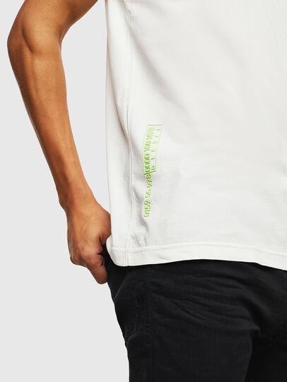 Diesel - T-DIEGO-J5, Weiß - T-Shirts - Image 7