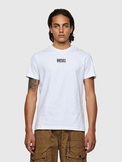 Diesel - T-DIEGOS-ECOSMALLOGO, Bianco - T-Shirts - Image 1