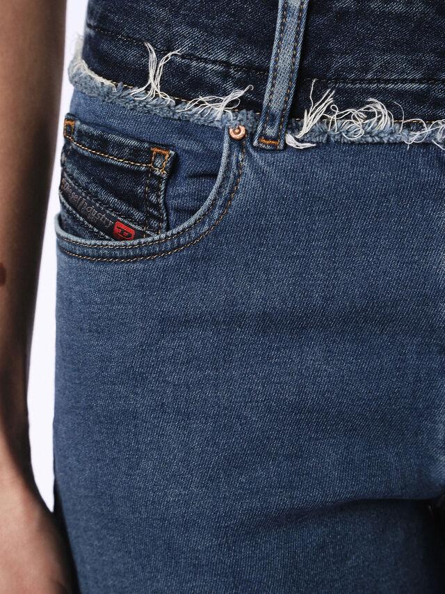 WIDEEN JOGGJEANS, Jeansblau