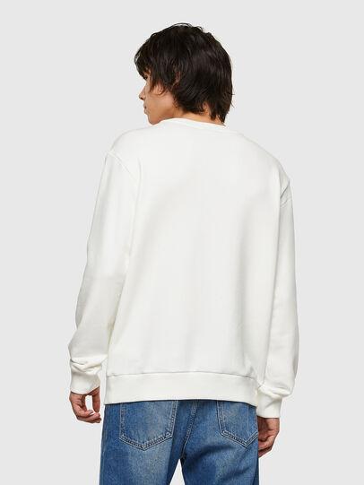 Diesel - S-GIRK-E1, Blanc - Pull Cotton - Image 2