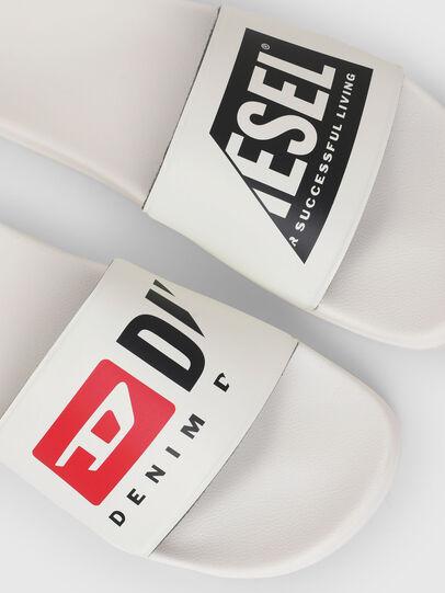 Diesel - SA-MAYEMI P, Bianco - Ciabatte - Image 5