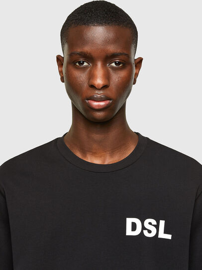 Diesel - T-JUST-E10, Schwarz - T-Shirts - Image 3