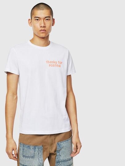Diesel - T-DIEGO-J20, Weiß - T-Shirts - Image 1