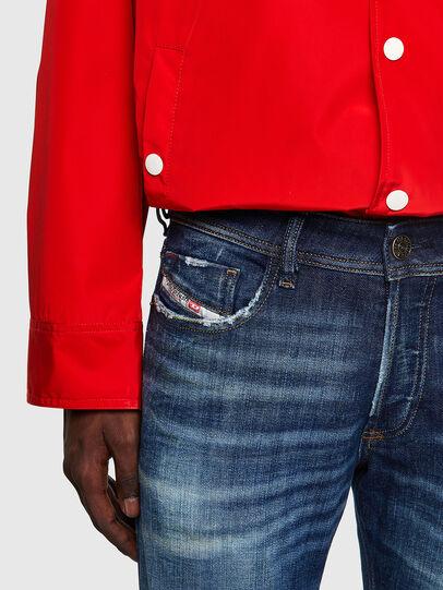 Diesel - Sleenker 09A27, Blu Scuro - Jeans - Image 3