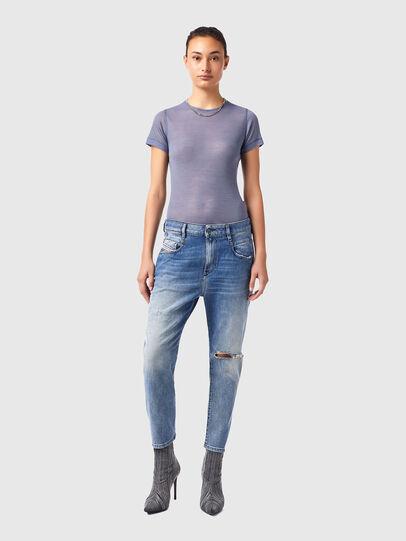 Diesel - Fayza 09B16, Blu Chiaro - Jeans - Image 5
