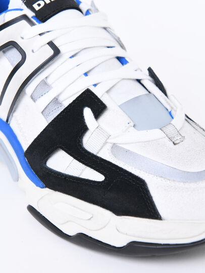 Diesel - S-KIPPER LOW TREK II, Bianco/Nero - Sneakers - Image 4