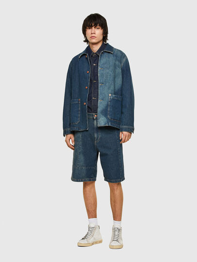 Diesel - D-ROLK-SP, Blue - Denim Jackets - Image 6