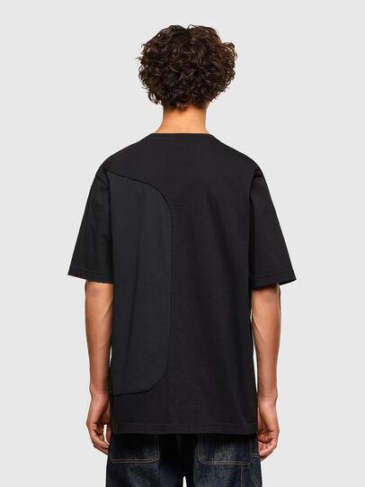 Diesel - T-BLAST, Nero - T-Shirts - Image 2