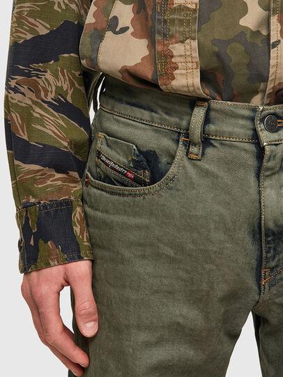Diesel - D-Strukt 09A50, Verde Militare - Jeans - Image 4