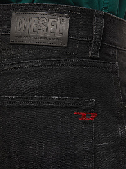 Diesel - D-Strukt 0098B, Nero/Grigio scuro - Jeans - Image 4