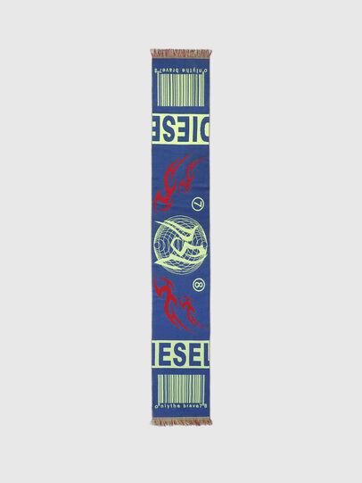 Diesel - S-BARCODE, Blau/Grün - Schals - Image 3