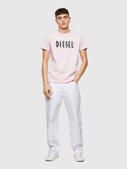 Diesel - T-DIEGOS-E34, Rose Poudré - T-Shirts - Image 4