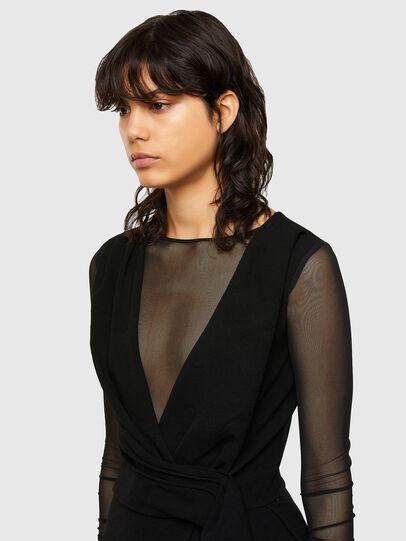 Diesel - D-DEVI, Black - Dresses - Image 4