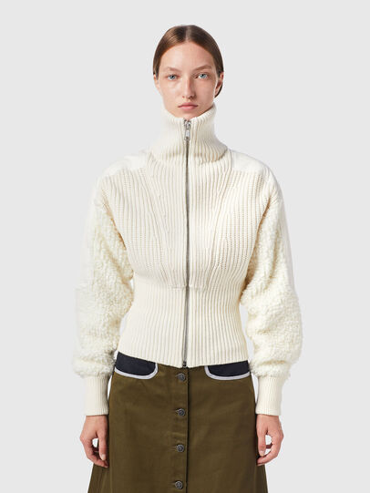 Diesel - M-WISCONSIN, Blanc - Pull Maille - Image 1