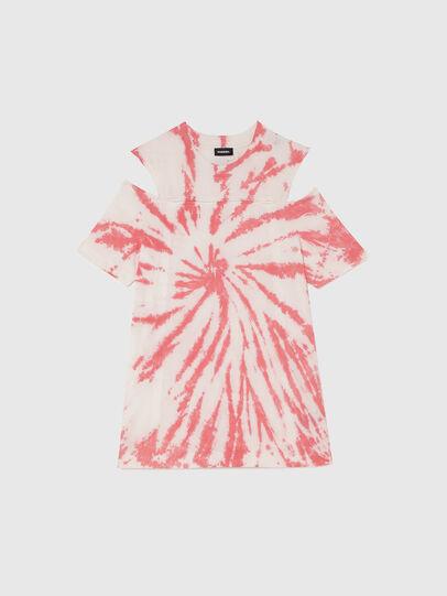 Diesel - DOPELTD, Rose/Blanc - Robes - Image 1