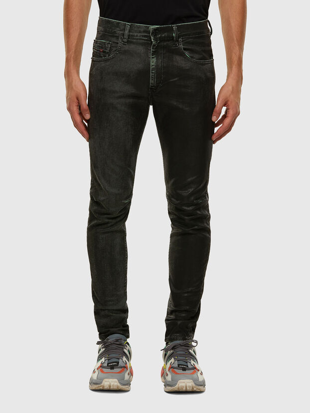 D-Strukt 009DU, Schwarz/Dunkelgrau - Jeans