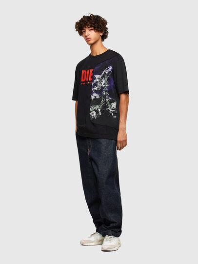 Diesel - T-BLAST, Nero - T-Shirts - Image 4