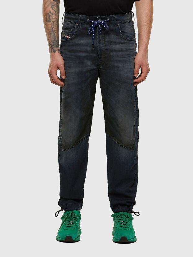 D-Skint JoggJeans 069PE, Dunkelblau - Jeans