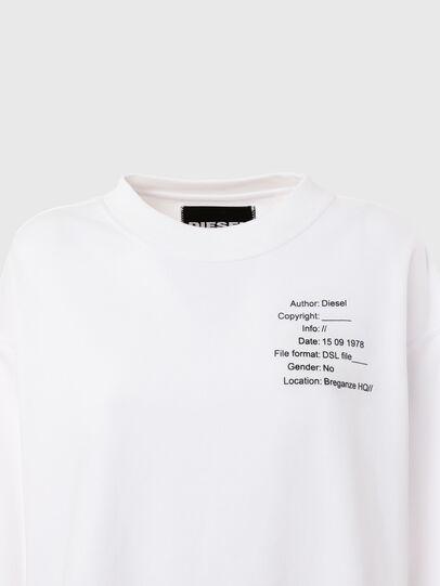 Diesel - UFTL-FELPH, Blanc - Pull Cotton - Image 3