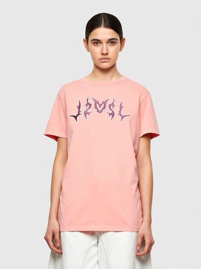 Diesel - T-DARIA-A3, Pink - T-Shirts - Image 1
