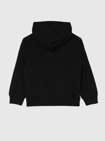 Diesel - SGIRKHOODCODE OVER, Black - Sweaters - Image 2