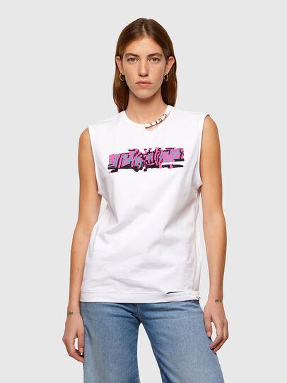 Diesel - T-BULL, Blanc - T-Shirts - Image 1