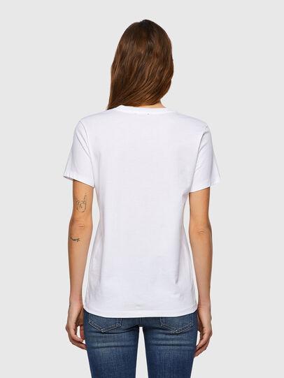 Diesel - T-SILY-B3, Blanc - T-Shirts - Image 2