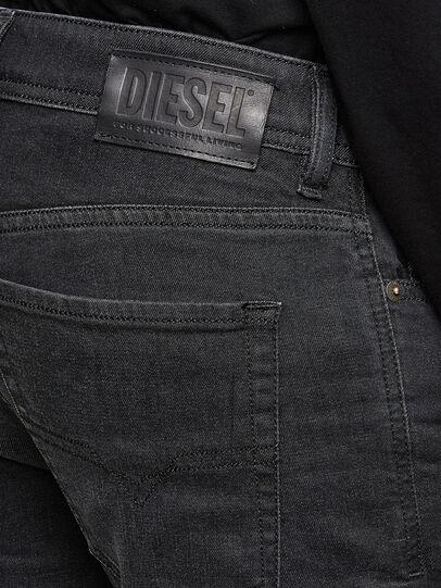 Diesel - Sleenker 009LY, Schwarz/Dunkelgrau - Jeans - Image 4