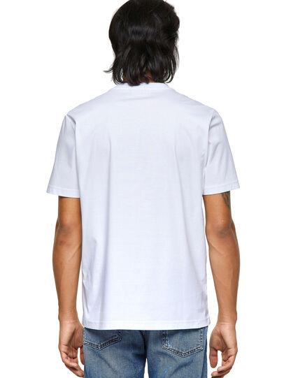 Diesel - T-JUST-ROMOHI, Weiß - T-Shirts - Image 2
