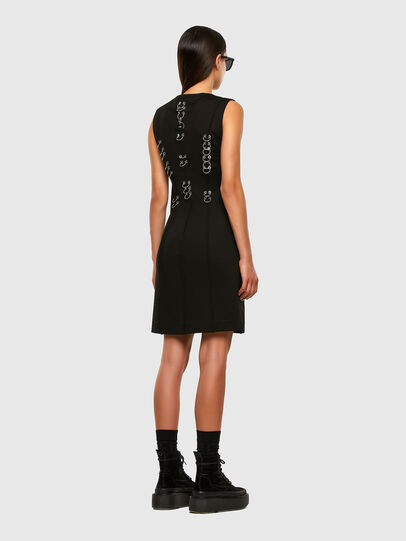 Diesel - D-PHILO, Black - Dresses - Image 7