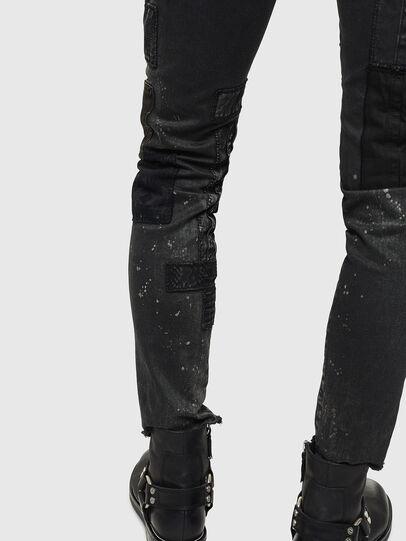 Diesel - D-Strukt 0093P, Schwarz/Dunkelgrau - Jeans - Image 8