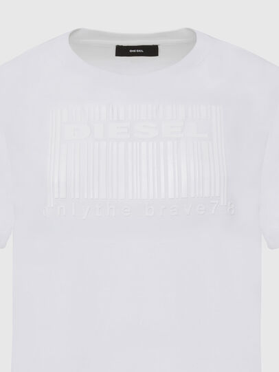 Diesel - T-DARIA-E2, Weiß - T-Shirts - Image 3