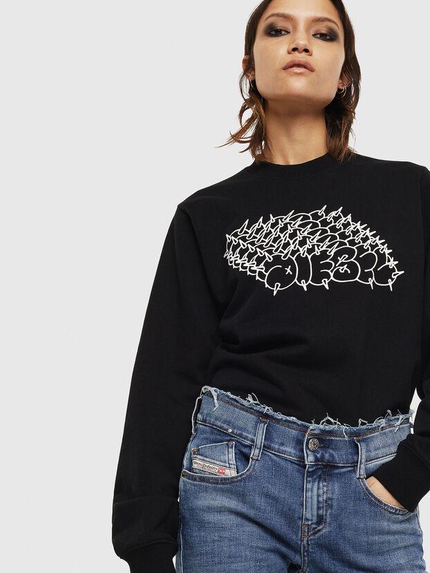 F-ANG-S2, Schwarz - Sweatshirts