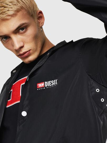 Diesel - J-ROMAN-P, Schwarz - Jacken - Image 5