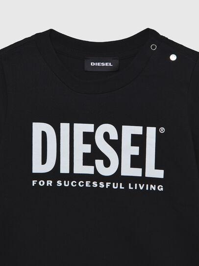 Diesel - TJUSTLOGOB ML, Noir - T-shirts et Hauts - Image 3