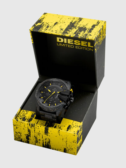 Diesel - DZ4539, Nero/Giallo - Orologi - Image 4